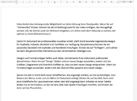 File Blocksatz Beispiel Deutsch German Text 15 14